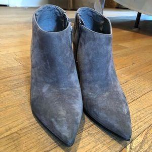 Marc Fisher Pointed Toe Grey Bootie